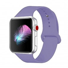 Ремешок Apple Watch Silicone 42 / 44mm (35) Lavender