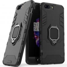 Бронь-чехол Ring Armor Case OnePlus 5 (чёрный)