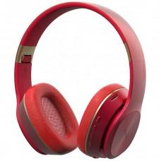 Наушники-гарнитура Moxom MX-WL05 Bluetooth (Накладные) (Красный)