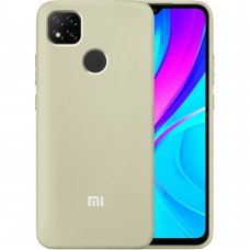 Силикон Original Case Xiaomi Redmi 9C (Бежевый)