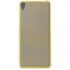 Чехол Utty Glitter Sony Xperia XA F3112 (золотой)