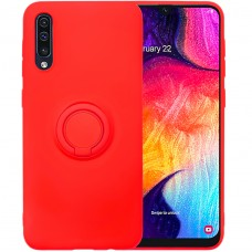 Чехол Ring Silicone Case Samsung Galaxy A30s / A50 / A50s (Красный)