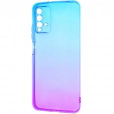 Силикон Gradient Design Xiaomi Redmi 9T (Сине-фиолетовый)