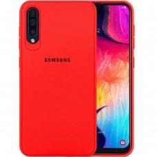 Силикон Junket Case Samsung Galaxy A30s / A50 / A50s (2019) (Красный)