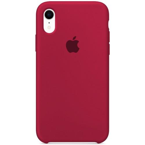Силикон Original Case Apple iPhone XR (04) Rose Red
