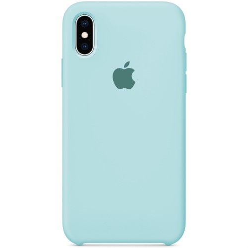 Силиконовый чехол Original Case Apple iPhone X / XS (21) Turqouise