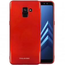 Силикон Molan Shining Samsung Galaxy A8 Plus (2018) A730 (Красный)