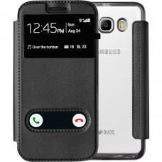 Чехол-книжка View Cover Shine Samsung Galaxy J5 (2016) J510 (Черный)