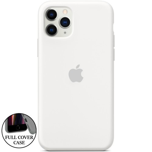Силикон Original Round Case Apple iPhone 11 Pro (06) White