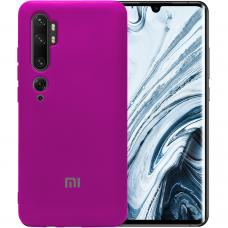 Силикон Original Case Xiaomi Mi CC9 Pro / Note 10 (Сиреневый)