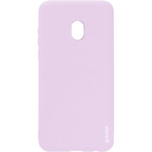 Силиконовый чехол iNavi Color Samsung Galaxy J7 (2017) J730 (персик)