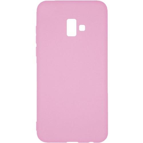 Силиконовый чехол Multicolor Samsung J6 Plus (2018) J610 (розовый)