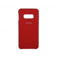 Силикон Original Case (HQ) Samsung Galaxy S10e (Красный)
