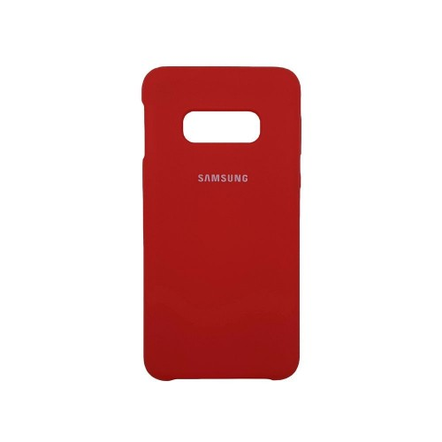 Силикон Original Case (HQ) Samsung Galaxy S10e (Красный)