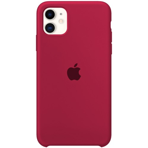 Силиконовый чехол Original Case Apple iPhone 11 (04) Rose Red