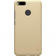 Чехол Nillkin Frosted Shield Xiaomi Mi Max 2 (золотой)