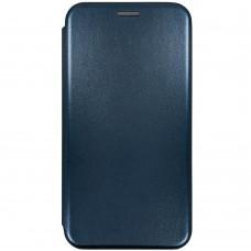 Чехол-книжка Оригинал Samsung Galaxy A12 (2020) (Тёмно-синий)
