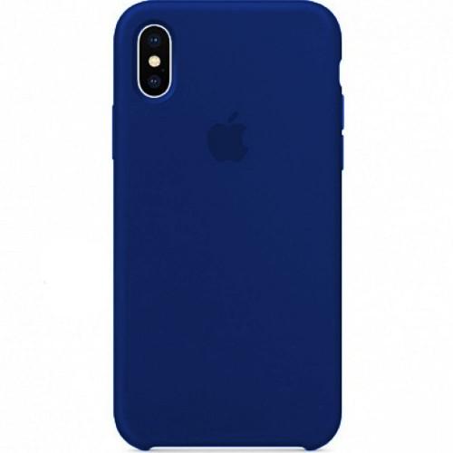 Силикон Original Case Apple iPhone X / XS Dark Blue
