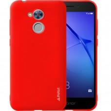 Силиконовый чехол iNavi Color Huawei Honor 6a (красный)