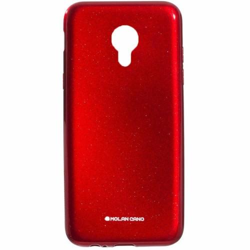 Силиконовый чехол Molan Shining Meizu M5s Красный