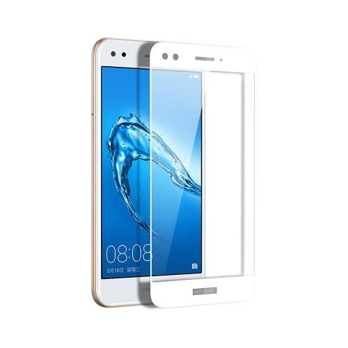 Защитное стекло 5D для Huawei Nova Lite (2017) White