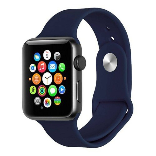Ремешок Apple Watch Silicone 42 / 44mm (09) Midnight Blue