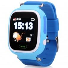 Ремешок Silicone Smart Baby Watch Q90 (Blue)