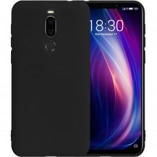 Силиконовый чехол iNavi Color Meizu X8 (Черный)