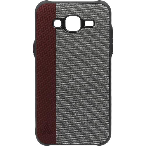 Силиконовый чехол Inavi Samsung J500/J5 (2015) (бордовый)