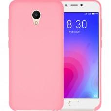 Силикон Original Case Meizu M6s (Розовый)