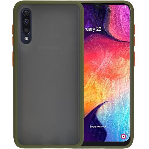 Накладка Totu Gingle Series Samsung Galaxy A30S / A50 / A50S (2019) (Тёмно-зелён..
