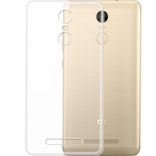 Силиконовый чехол QU Case Xiaomi Redmi Note 3 (Прозрачный)