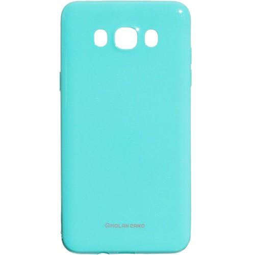 Силиконовый чехол Molan Shining Samsung Galaxy J7 (2016) J710 (Бирюзовый)