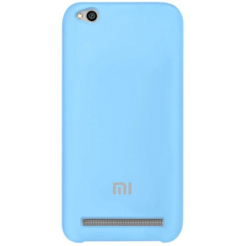 Силикон Original Case Xiaomi Redmi 5a (Голубой)