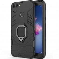 Бронь-чехол Ring Armor Case Huawei P Smart (Чёрный)