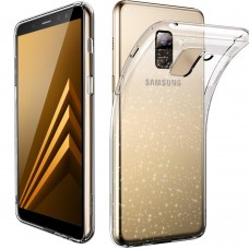 Силикон Molan Shining Samsung Galaxy A8 Plus (2018) A730 (Прозрачный)