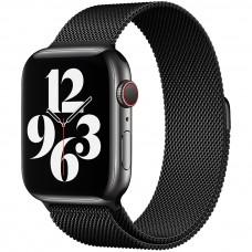 Ремешок Milanese Loop Apple Watch 38 / 40 mm (Black)