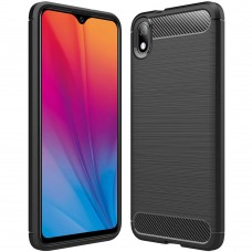 Силикон Polished Carbon Vivo Y91c (Чёрный)
