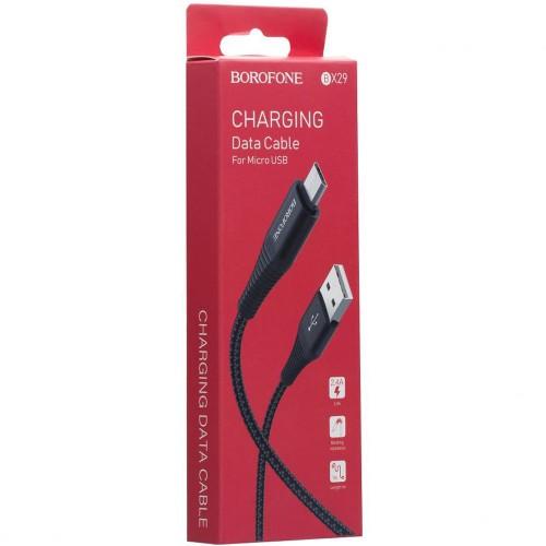 USB кабель Borofone BX29 (MicroUSB)