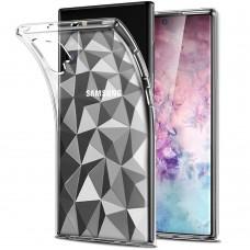 Силикон Prism Case Samsung Galaxy Note 10 Plus (Прозрачный)
