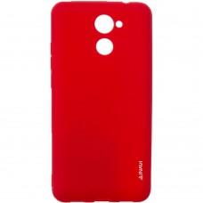 Силиконовый чехол iNavi Color Huawei Y7 2017 (Красный)