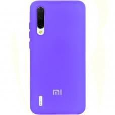 Силикон Original Case (HQ) Xiaomi Mi9 Lite / Mi CC9 (Фиолетовый)