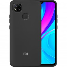Силикон Original Case Xiaomi Redmi 9C (Чёрный)