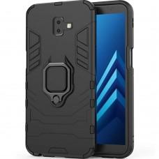 Бронь-чехол Ring Armor Case Samsung Galaxy J6 Plus (2018) J610 (Чёрный)