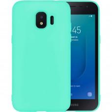 Силикон iNavi Color Samsung Galaxy J2 (2018) J250 (Бирюзовый)