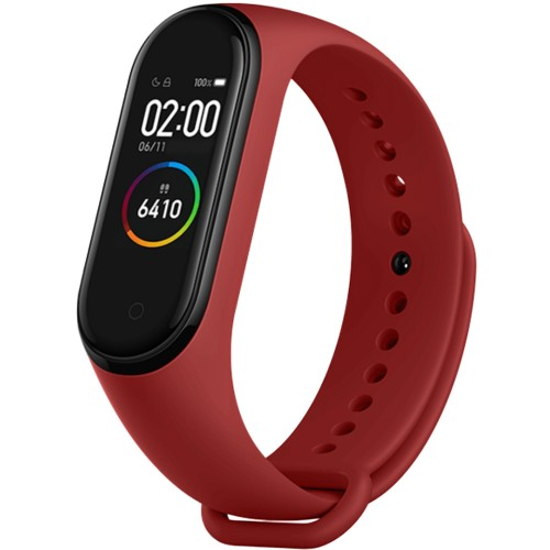 Ремешок Original Design Xiaomi Mi Band 3 / Mi Band 4 (Бордовый)