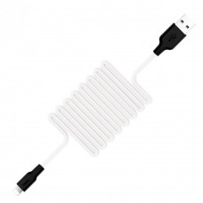 USB-кабель Hoco Silicone X21 (Type-C) (черно-белый)