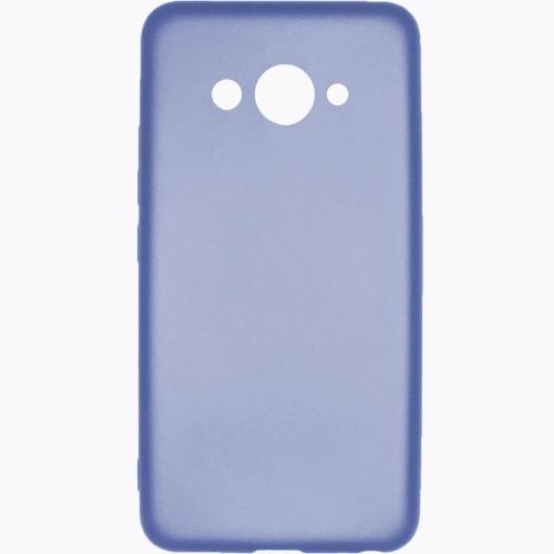 Силиконовый чехол Soft Color Huawei Y3 2017 Синий