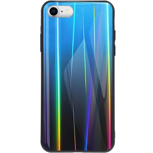 Накладка Gradient Glass Case Apple iPhone 7 / 8 (Синий)
