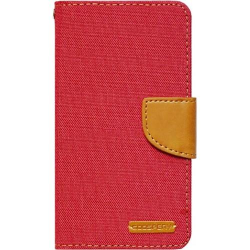 Чехол-книжка Goospery Canvas Diary Xiaomi Redmi Note 3 / Note 3 Pro (Красный)